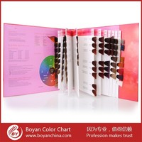 Newest Salon Professional Hair Color,Hair Color Chart Swatch Book For Hair Color Cream