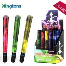 New fashion free sample stainless steel tube K912D e shisha long and thin e cigarette