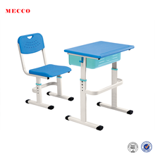 2018 combination desk and table kindergarten school desk study table and chair set