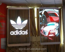 Amazing Transparent Led Display Hanging Led Curtain Screen Billboard On Window