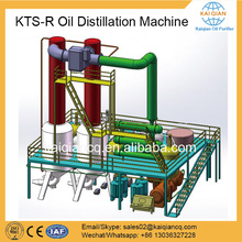 Waste Black Engine Motor Oil Recycling Distillation System