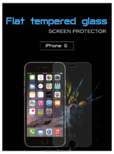 2017 wholesale flat tempered glass screen protector for iP6