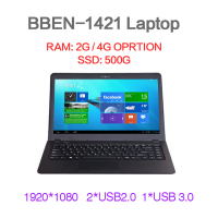 Cheap Intel Celeron N2840 laptop in china!!! 14.1 inch cpu intel notebook compute 1920*1080pix