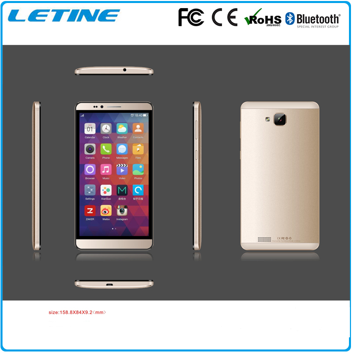 6 inch 4g LTE smart phone dual sim mobile phone MT8735 Quad core 4g lte smartphone
