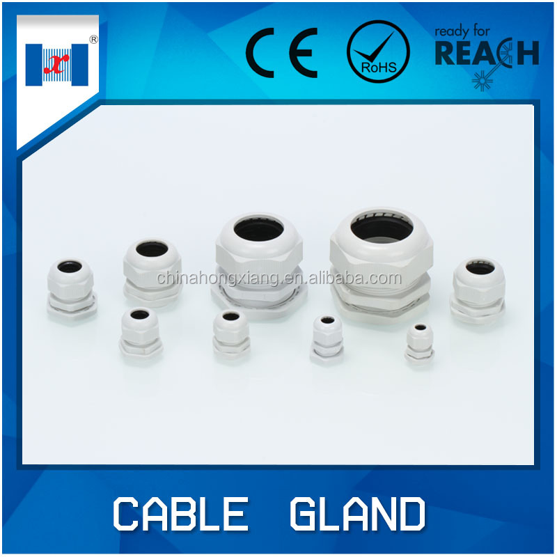 HongXiang waterproof white plastic hole plugs for cable