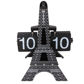 Effiel Tower-Fashion flip clock