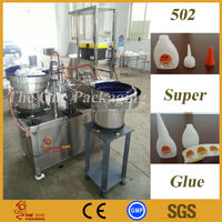 TOFSC-502 502 Super Glue Filling And Capping Cyanoacrylate Adhesive Filling Machine