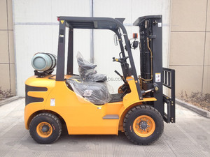 engine gas and petrol forklifts with k25 nissan engines