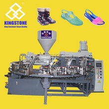 Rotary Plastic Shoe Injection Making Machines For Making PVC Jelly Shoes JL-128