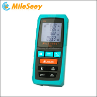 Mileseey 60m Digital Area Measurement Laser Distance Meter Measuring Instrument