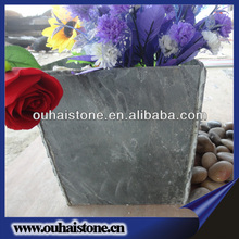Easy fitting grass lawn use natural slate stone mini potted plants