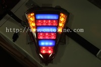 china factory,customized products, high quality motorcycle tail light , stop turn signal lamp