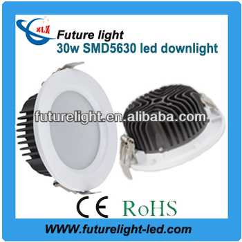 high bright ip54 smd5730 30w led downlight