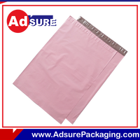 Recyclable Courier Bags Custom Logo/wholesale vinyl cosmetic bags/plastic die cut bag