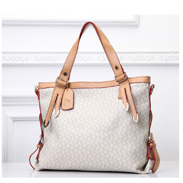 Fashion Solid Leather Women Shoulder Bags Wholesale White PU Women Handbags b36f922973