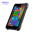 SZWELL 8inch Win 10 os three anti Tablet PC for outdoor use