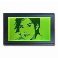 122x32 lcd display Module with yellow and green transflective LCD, 6:00 viewing angle
