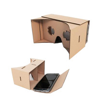 Made in China B Corrugated Virtual Reality Glasses google cardboard packaging box for 3D glasses