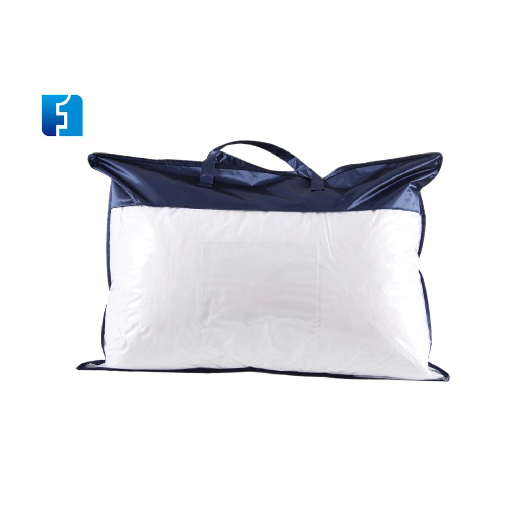 Household Pillow Packaging Frosted Pvc Zipper Bag With Logo Printing Product On Alibaba