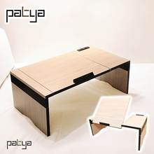 Patya Nordic Style Furniture Folding Laptop Bed Study Table On