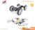 2017 Newest special remoye control tumbling stunt car transformation drone with led function quadcopter