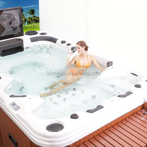 Jazzi Certificated Home Sexy Hot Tub Massage Spa SKT339F