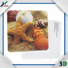 Made in China 3D Lenticular Custom Plastic Mouse Pad