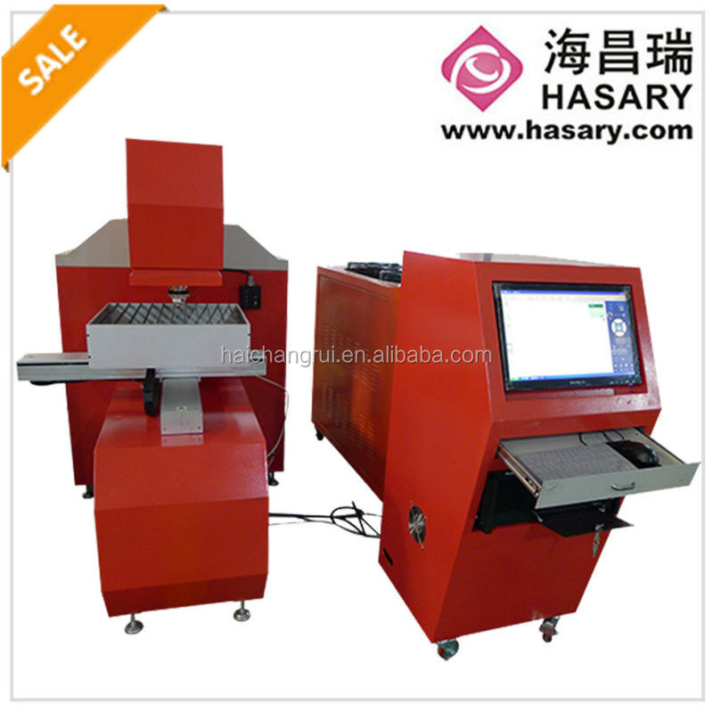 Best selling wuhan 650W laser cutting machine with gpx 5000 detector