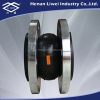 Floating Flange Connection Neoprene Rubber Pipe Expansion Joint