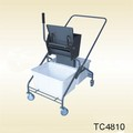 Special mop cleaning cart