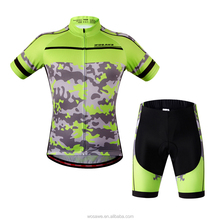 Tour de france cycling clothing Bicycle wear bike jersey and bib shorts