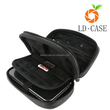 PU Leather Double Compartment Carry Travel Case for Nintendo