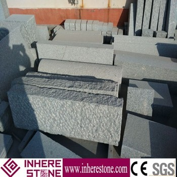 cheap g341 white granite curbstone factory price