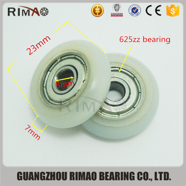 5-23-7mm Wardrobe closet door roller small round hanging wheel shower glass sliding door rolller.jpg