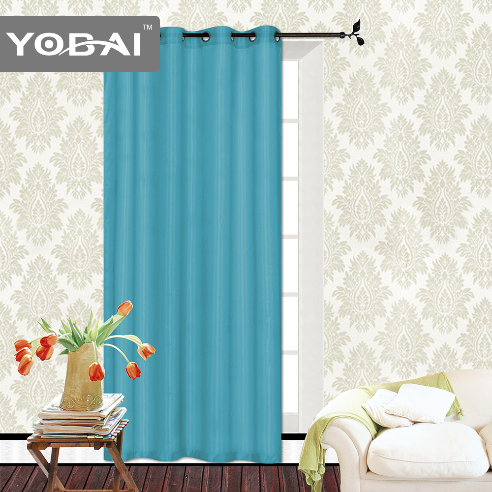 wholesale volie stripe knitted office plain style window curtains