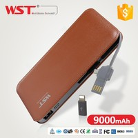 Fashionable Design Power Bank Quick Charger