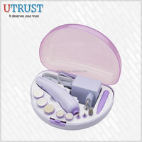 Newest fashion battery operated Beauty Tools Cheap Manicure Sets