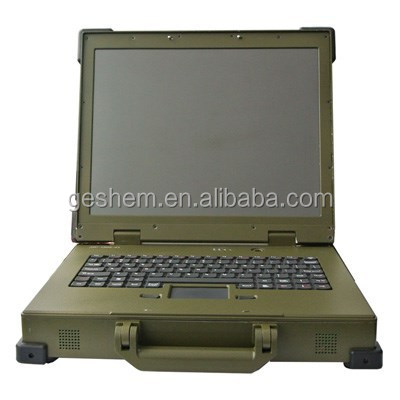Geshem RL-GS1501 Intel D525 fully rugged <strong>laptop</strong>