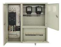 ACP distribution electric meter box for open or concealed installation