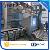 Professional steel tube shot blasting machine, shotblasting machine