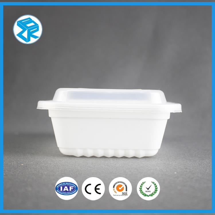Round Shaped Clear Blister Packaging Factory Bento Pp Electrical Lunch Box Disposable Boxes