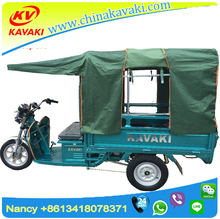 900W 60V 20A battery powered bajaj three wheeler adult tricycle price