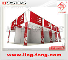 Customized standard display stand from LING TONG EXHIBITION SYSTEM