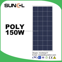 Cheap price for Pakistan, Afghanistan market 150W 12V solar panel