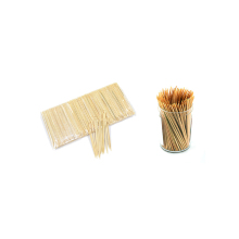 2.0*60mm factory price fancy flat bamboo/wooden/plastic toothpicks