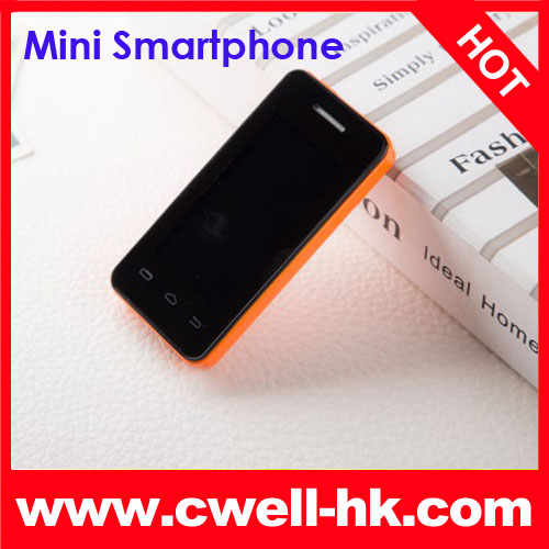 MTK6572E Dual Core 2.4 inch mini android 4.2 dual sim mobile phone