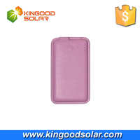 The hottest products 5000mah power bank new design style rohs li-polymer leather power bank