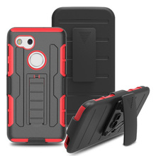 robot pc tpu combo case for google pixel XL 2 shockproof cover for google pixel XL 2