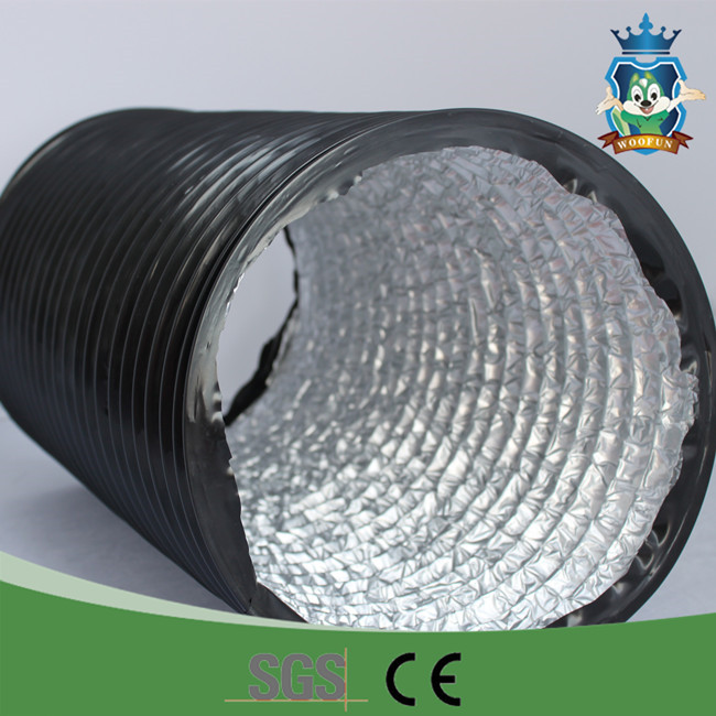 Pvc Air Duct : Flexible pvc duct hose for hvac air buy