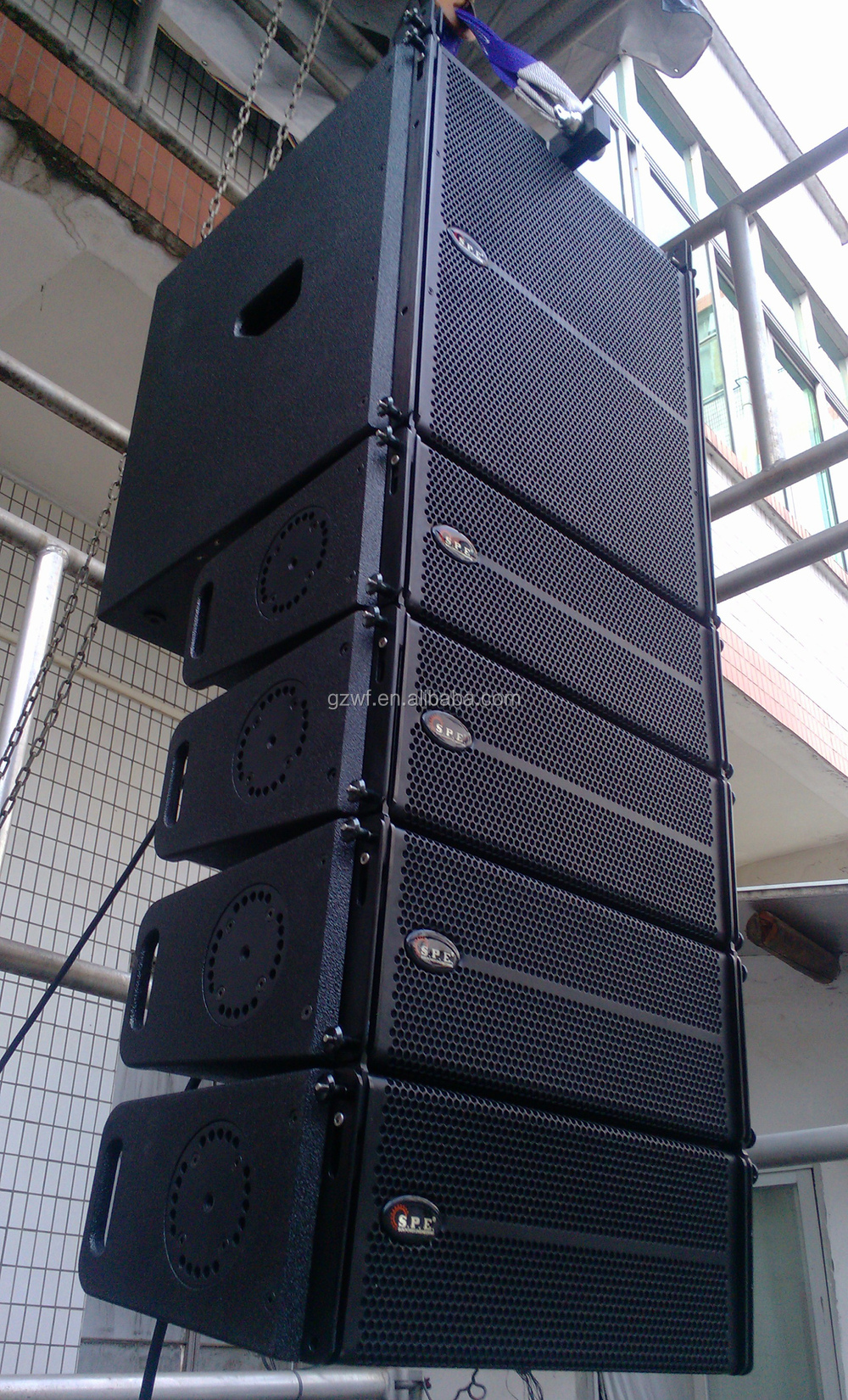 SPE Audio Mini Active Line Array Sound System LA-1AD